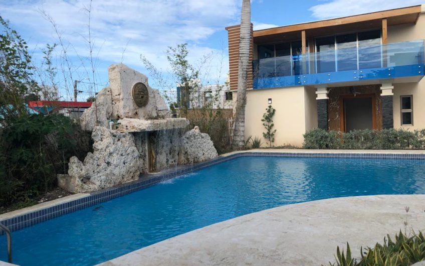 Vendo hermosa villa de 3 habitaciones y terraza en proyecto Cerrado.