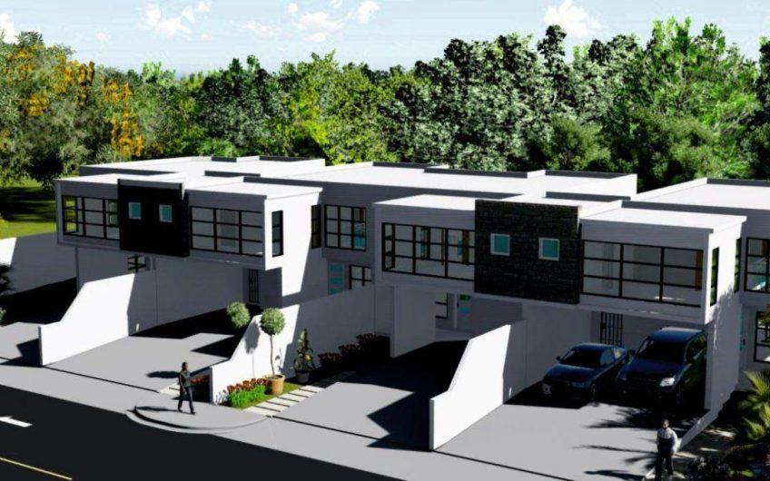 Vendo Casas de 2 niveles en Proyecto Cerrado con excelente seguridad   en Construcción a pocos minutos de La Embajada Americana.