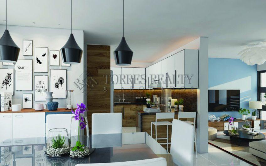 apartamento en construcción de solo 32 unidades con terminación de primera en Villa Maria-Santiago
